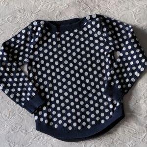 Joe Fresh Polka Dot Sweater * 4T